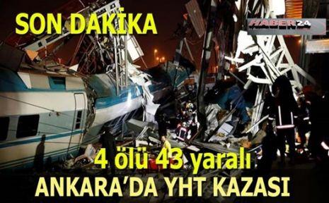 YHT kazası: Çok sayıda ölü ve yaralılar var