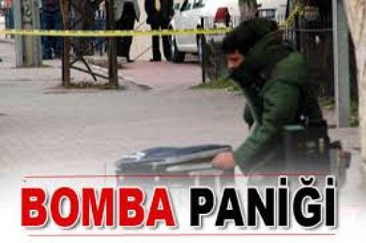 Yolcu durağında bomba paniği