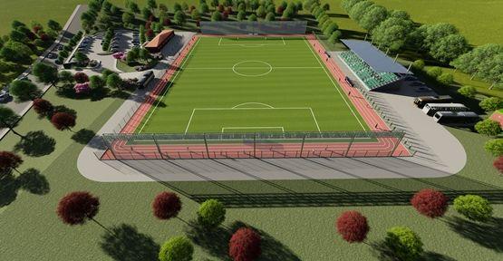 Yuvacık'a modern futbol sahası