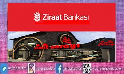 Ziraat Bankası Simit Sarayına Ortak Oluyor