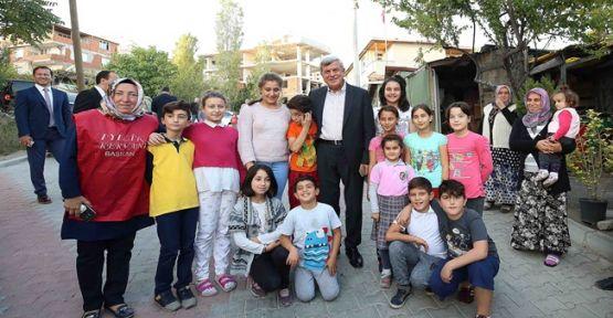 Başkan Karaosmanoğlu'ndan çat kapı