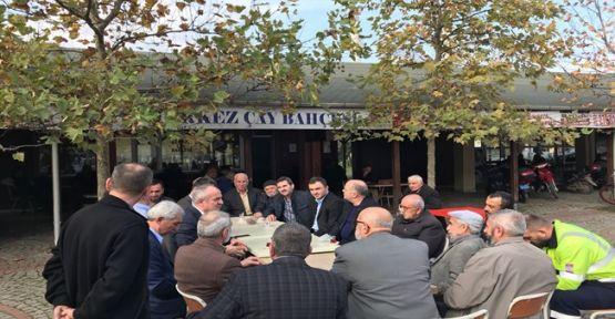 Başkan Kocaman Köseköy'de Vatandaşlarla Buluştu