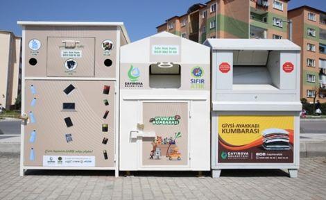 Çayırova'da mobil atık getirme merkezi