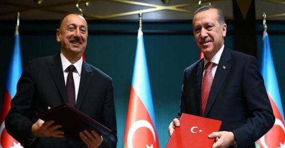 Cumhurbaşkanı Erdoğan, İlham Aliyev İle Toplantı Düzenledi !