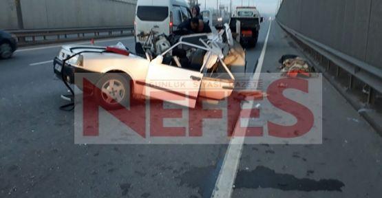 D-100 de ölümlü trafik kazası