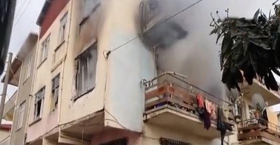 Evinde çıkan yangında hayatını kaybetti
