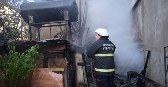 Gebze'de Korkutan Yangın !