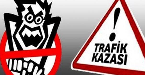 Gebze'de trafik kazası!