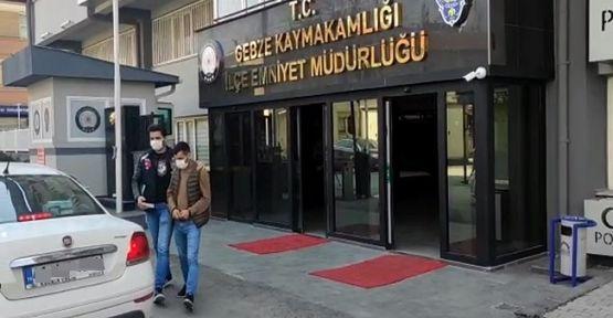 Gebze'de yankesicilik yapan şahıs tutuklandı!