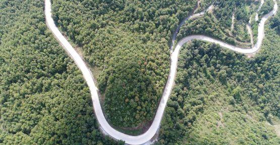 Gölcük -Yazlık ve Panayır yolu yenilendi