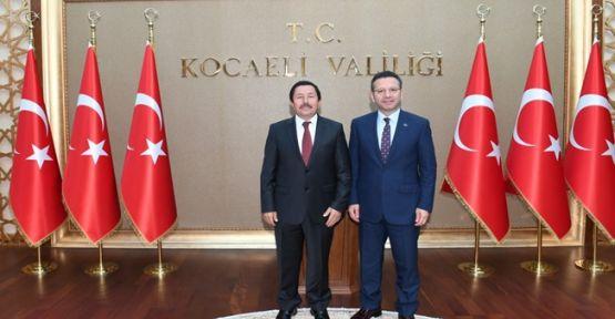 İrfan Balkanoğlun'dan Hüseyin Aksoy'a Ziyaret !
