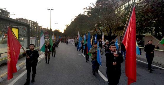 KMKB'den Cumhuriyet Yürüyüşü