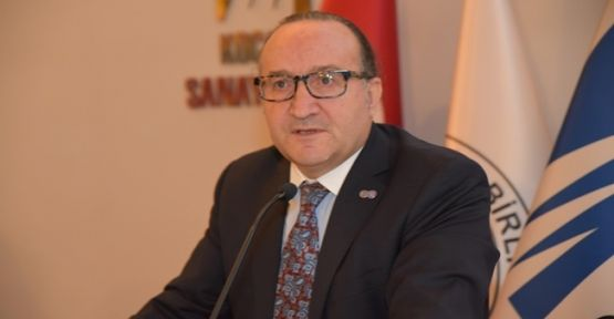 KSO Yönetim Kurulu Başkanı Ayhan Zeytinoğlu'nun Açıklaması