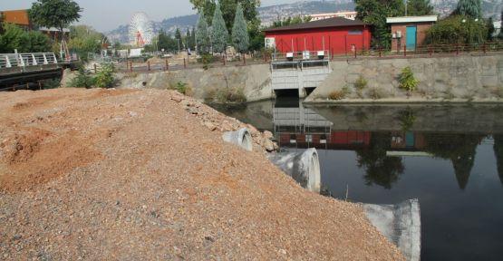 Kumla Deresi Köprüsü çalışması trafiği rahatlatacak
