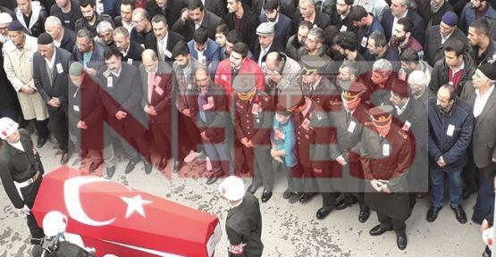 Şehit Ömer Özavcı Son Yolculuğuna Uğurlandı !