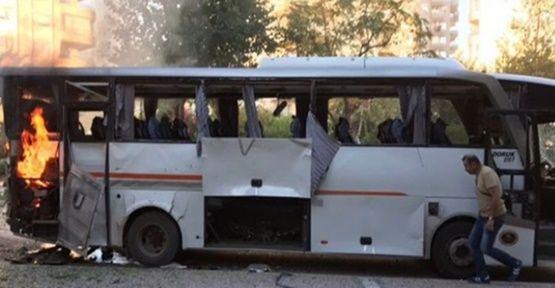 Son Dakika...Mersin'de Polis Servis Aracına Saldırı !