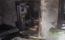 Piknik tüpünden çıkan yangın evi küle çevirdi!