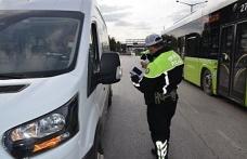Kocaeli'de 48 araç trafikten men edildi