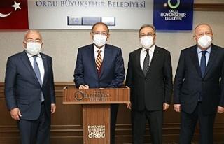 """Mehmet Özhaseki""""AK Parti olarak bizler istişareye..."""