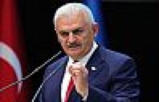 Başbakan Binali Yıldırım Kim İçin Sert Konuştu...