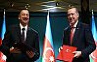 Cumhurbaşkanı Erdoğan, İlham Aliyev İle Toplantı...