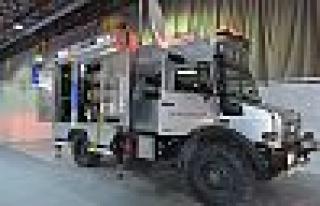 Depremde Acil İletişim Aracı, Bilişim Fuarı'nda