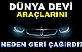 Dünya Devi'nin Araçlarını Geri Çağırma Sebebi...