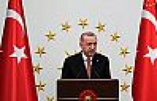 Erdoğan:Birilerine imtiyaz sağlamak, menfaat devşirmek,...