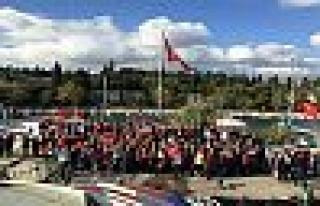 Eskihisar'da Cumhuriyet Kutlaması