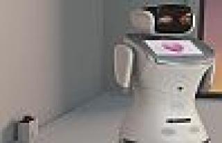 İnsansı Robotlar Bilişim Fuarı'nda