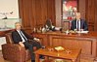Yeni Emniyet Müdürü Ahmet Yılmaz Kimi Ziyaret...