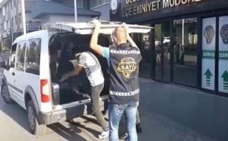 Gebze'de yağmalama suçundan aranan şahıs yakalanarak tutuklandı