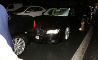 Zincirleme kaza!.. Aralarında Darıca Belediye Başkanı'nın makam aracı da var!