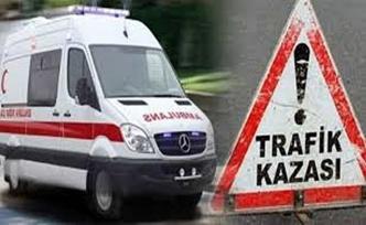 Kocaeli'de iki araç çarpıştı; 7 yaralı