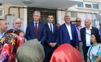 """Karaosmanoğlu, """"Bugün özgürsek bunu şehit ve gazilerimize borçluyuz"""""""
