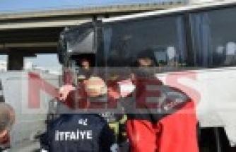 Gebze'de kopan dorse zincirleme kazaya sebep oldu