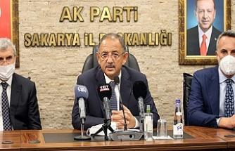 """Mehmet Özhaseki """"20 yıldır birinci partiyiz, bu bir dünya rekorudur"""""""