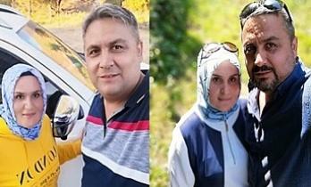 Komiser yardımcısı Uğur Özdemir ve eşi Emine Özdemir trafik kazasında hayatını kaybetti