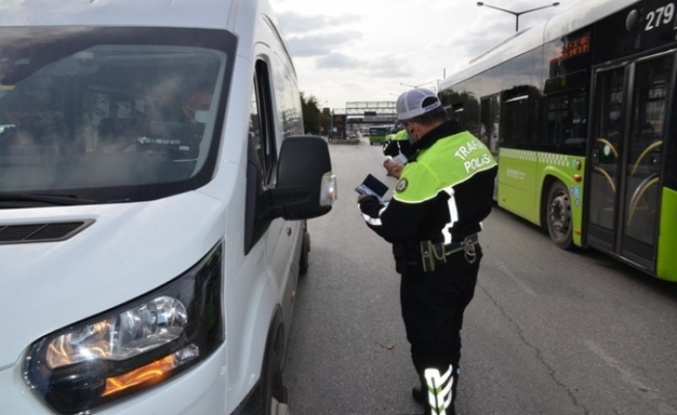 Kocaeli'de  Toplu taşıma araçlarında sivil polis denetimi yapıldı