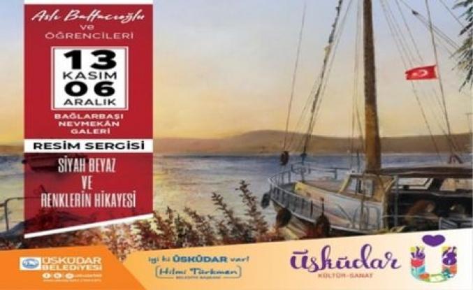 Aslı Baltacıoğlu ve öğrencileri resim sergisine davet ediyor!