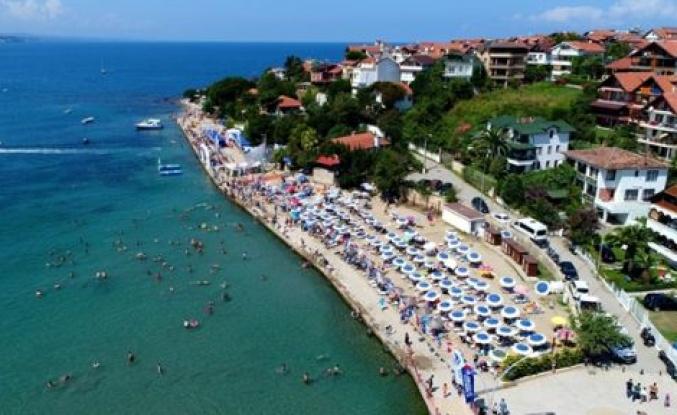 Büyükşehir'in plajları örnek olarak gösteriliyor
