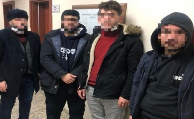İtalya'ya kaçmaya çalışan göçmenler yakalandı!
