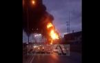 Safaş sünger fabrikasında Yangın